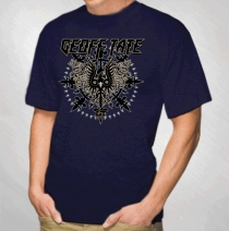 Geoff Tate - Men's Navy Eagle Tour 2012 Tee