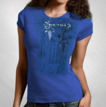 Geoff Tate - Women's Insania Royal Blue Tee