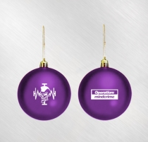 Geoff Tate - Operation Mindcrime Purple Ornament