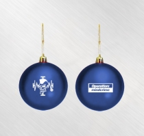 Geoff Tate - Operation Mindcrime Blue Ornament
