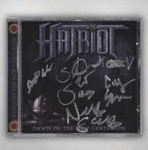 Hatriot - SIGNED - Dawn Of The New Centurion CD
