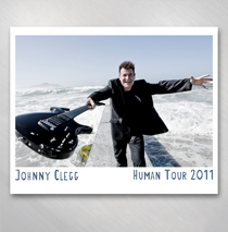 Johnny Clegg - 8 x 10 Photo