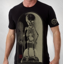 Jason Newsted - Men's Black Lil Pedestal Tee