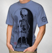 Jason Newsted - Men's Blue Lil Pedestal Tee