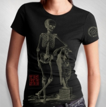 Jason Newsted -  Women's Horse Skull Lean Tee
