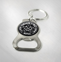 Jason Newsted - Star Logo Bottle Opener Keychain