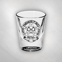 Jason Newsted - Star Logo Shot Glass