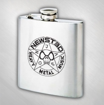 Jason Newsted - Logo Stainless Steel Flask