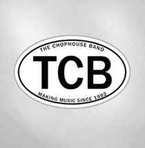 Jason Newsted and the Chophouse Band - TCB Car Sticker