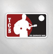 Jason Newsted and the Chophouse Band - MLB Logo Sticker
