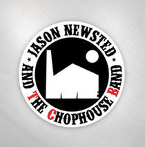 Jason Newsted and the Chophouse Band - Chophouse Round Sticker