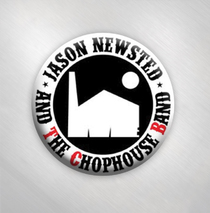 Jason Newsted and the Chophouse Band - Logo Button Badge