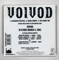 Voivod - Advance 3-Song CD