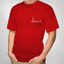 Jaco Pastorius - Word Of Mouth Red Tour Tee