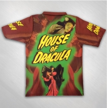 Kirk Von Hammett - House of Dracula Allover Printed Button Up
