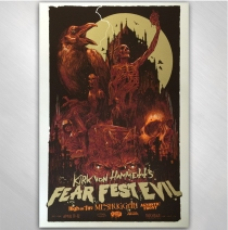 Kirk Von Hammett - 2015 Fear FestEvil Poster Day One