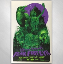 Kirk Von Hammett - 2015 Fear FestEvil Poster Day Two