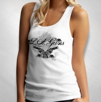 L.A. Guns - Women's Dragon And Guns Tank Top