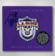 L.A. Guns - AUTOGRAPHED Shrinking Violet CD (Deluxe Re-Issue)