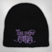 Lisa Marie Presley - Logo Embroidered Cable Beanie