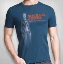 Michael Johns - Photo Tee - Ink Blue