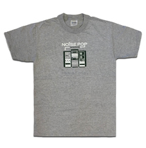 Noise Pop 2003 Heather Grey Tee