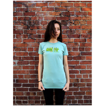 Noise Pop 2013 Ladies Teal Blue Tee