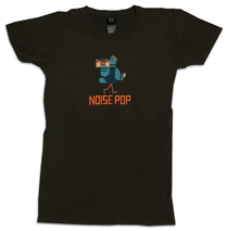 Noise Pop 2011 Ladies Brown Tee
