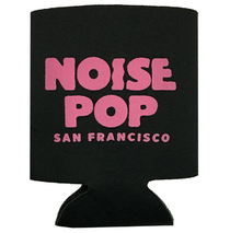 Noise Pop 2015 Logo Koozie