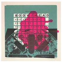Noise Pop 2013 Body/Head Poster