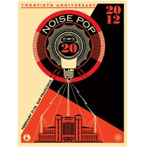 Noise Pop 2012 20th Anniversary Signed Poster