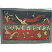 Noise Pop 2011 Concretes Poster