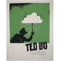 Noise Pop 2011 Ted Leo Poster