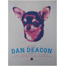 Noise Pop 2011 Dan Deacon (solo) Poster