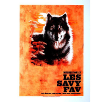 Noise Pop 2009 Les Savy #1 Poster