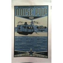 Noise Pop 2000 Chicago Signed Poster