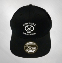 Jason Newsted - CA / Skull Logo Baseball Hat