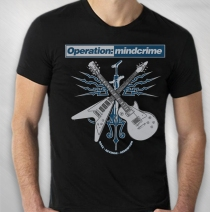 Operation Mindcrime - Men's Rock Revenge Redemption Tour Tee