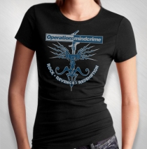 Operation Mindcrime - Women's Rock Revenge Redemption Tee