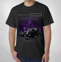 Operation: Mindcrime - Graveyard Car Tee