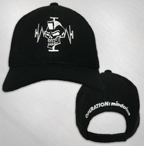 Operation: Mindcrime - Mohawk Skull Embroidered Hat