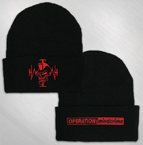 Operation: Mindcrime - Mohawk Skull Embroidered Beanie