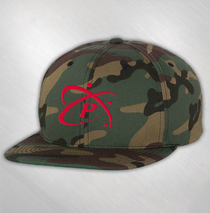 Particle - Green Camo Embroidered Logo Hat