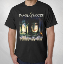 Pamela Moore - Behind The Veil Album Tee