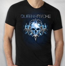 Queensryche - Tribal Skull Logo 2014 World Tour Tee