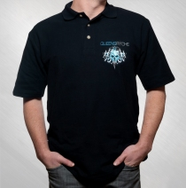 Queensryche - Men's New Tribal Logo Polo