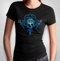 Queensryche - Women's New Skull Logo Tee