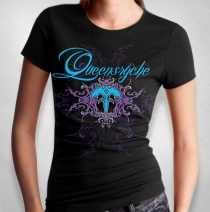 Queensryche - Women's Electric Flourish Tee