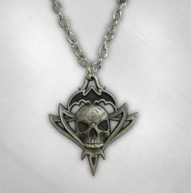 Queensryche - Women's Tribal Logo Pewter Necklace