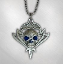 Queensryche - Men's Tribal Logo Pewter Necklace